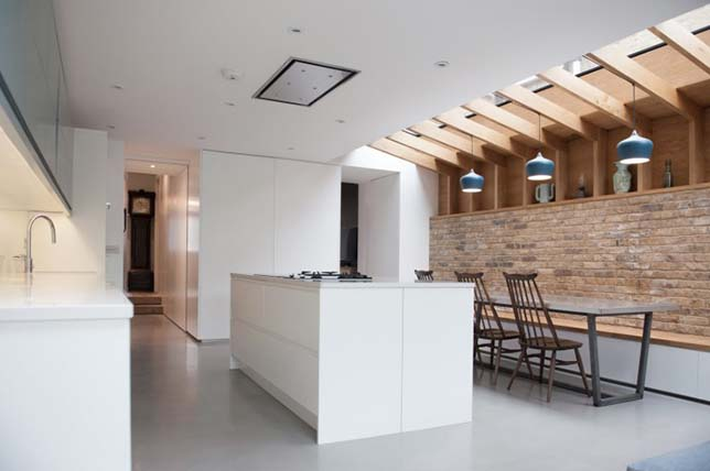 modern interior design style of farmhouse