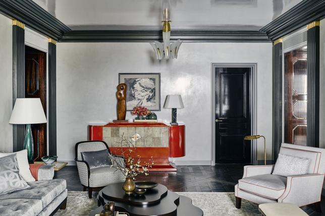 Art Deco interior design textiles