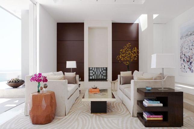 Art deco interior design flooring