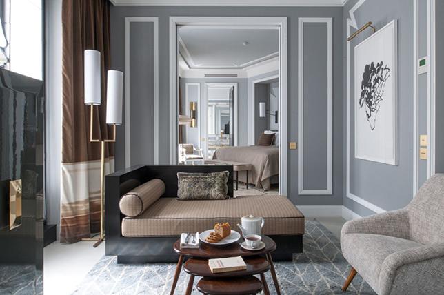 contemporary style interior design colors