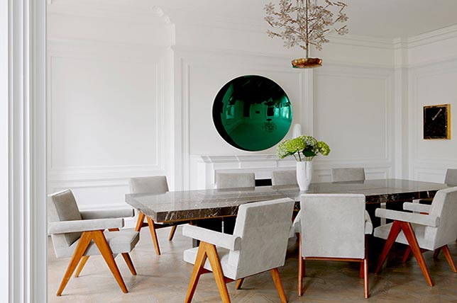 Dining room contemporary interior design styles