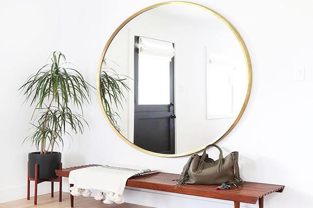 Mirror ideas in bohemian style
