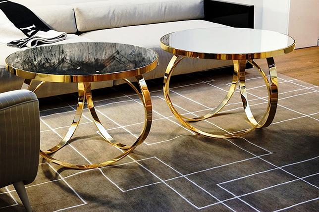 Gold summer interior design trend 2018
