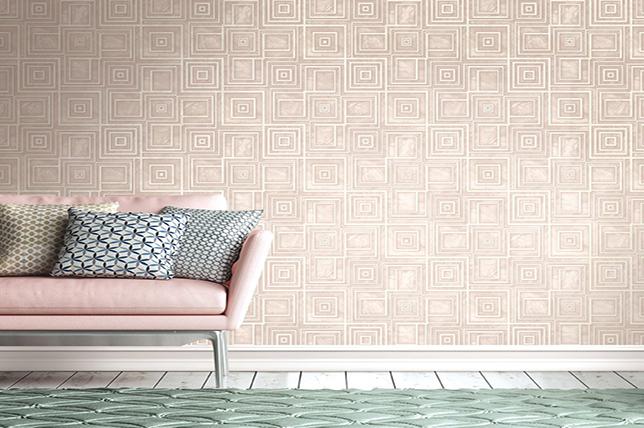 Geometric summer 2018 interior design trend