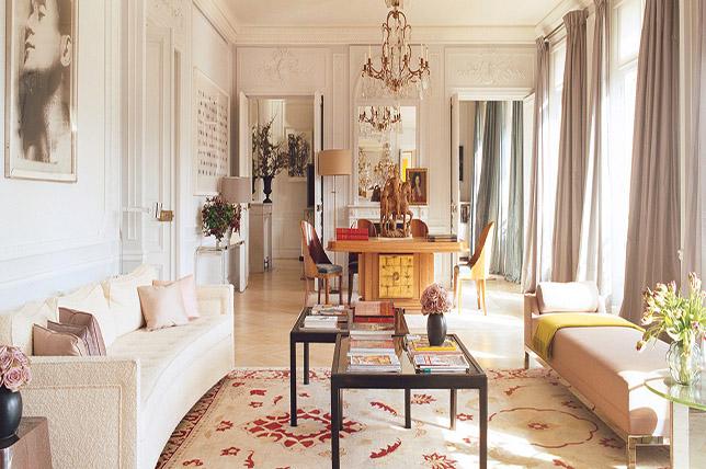 Hollywood regency interior design style