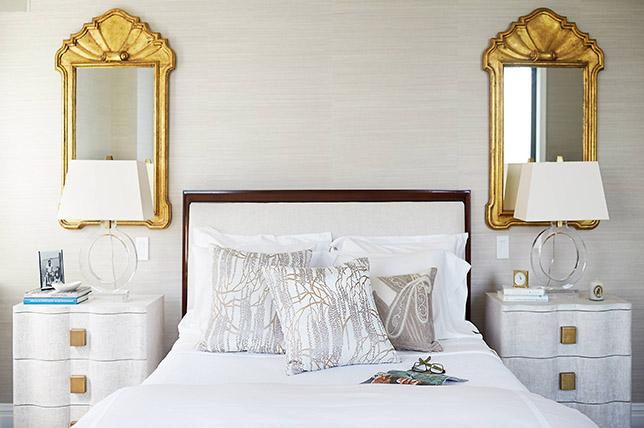 Holyywood regency style bedroom ideas