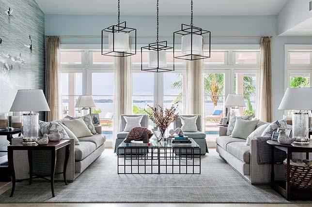 Living room asian zen interior design