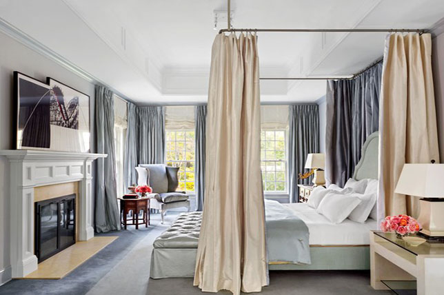 Transitional style bedroom