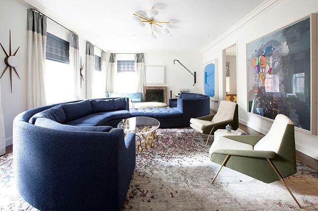 urban modern living room design style