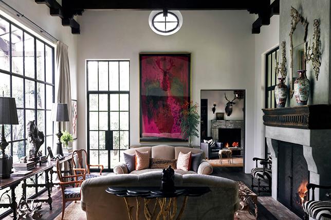 elegant interior design from Beverly Hills