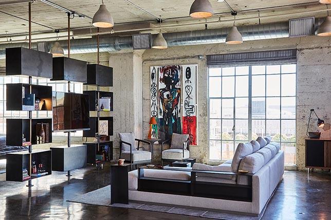 modern interior design from Beverly Hills