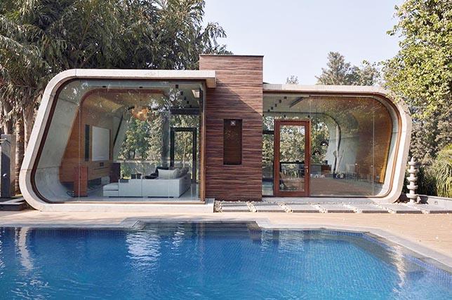 rustic pool house plans