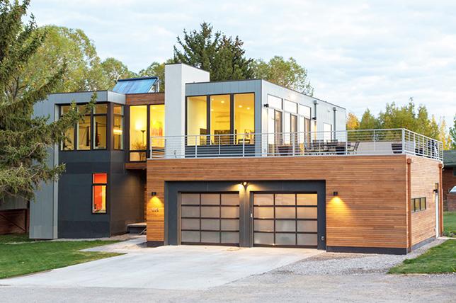 sustainable modular houses