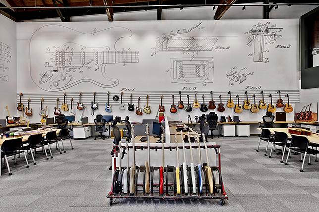 Fender modern office design