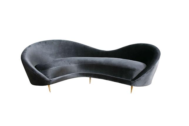 best modern gray sofa