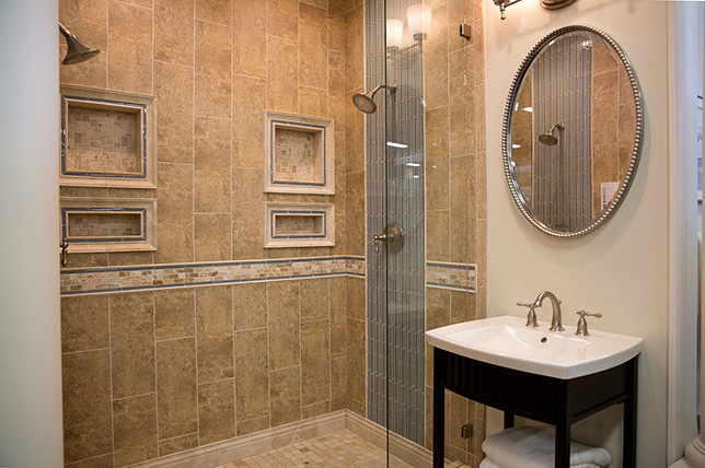 Retro bathroom tile ideas