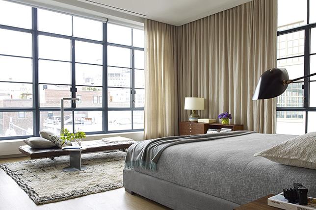 Minimalist interior design window treatments