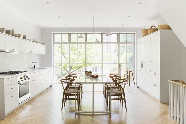 Minimalist interior design kitchen ideas