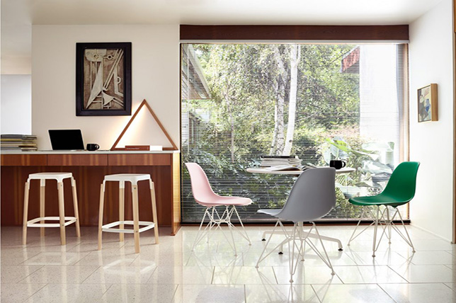 Minimalist interior design dining room