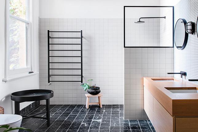 Minimalist interior design bathroom style
