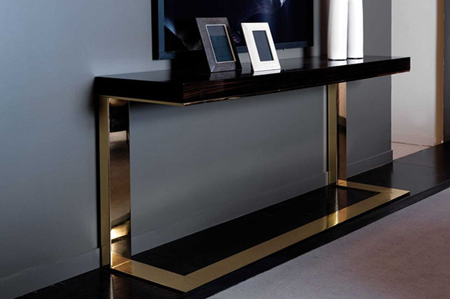 modern foyer console table interior design advice