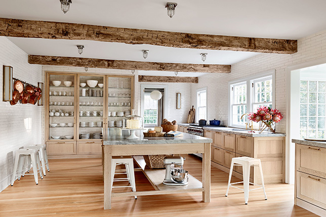 rustic decor kitchen
