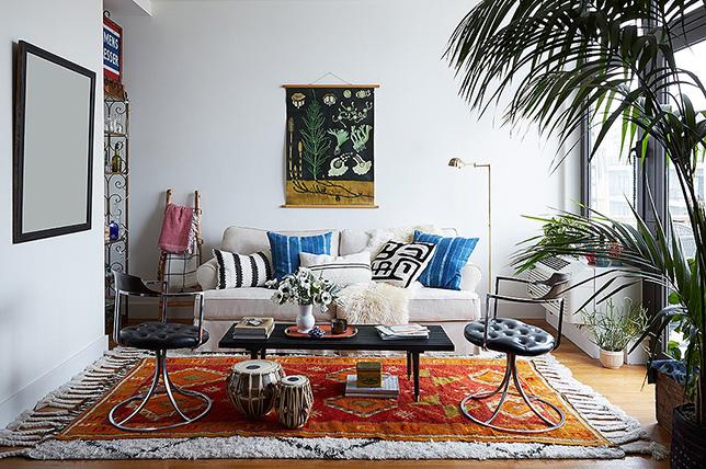 Layered carpets tips