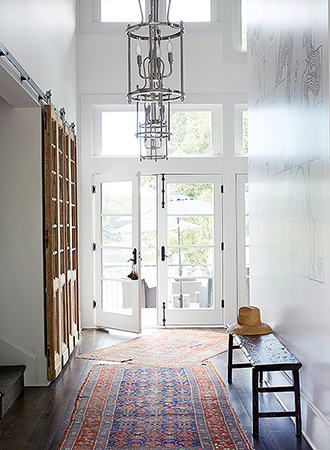 Foyer layer carpets tips