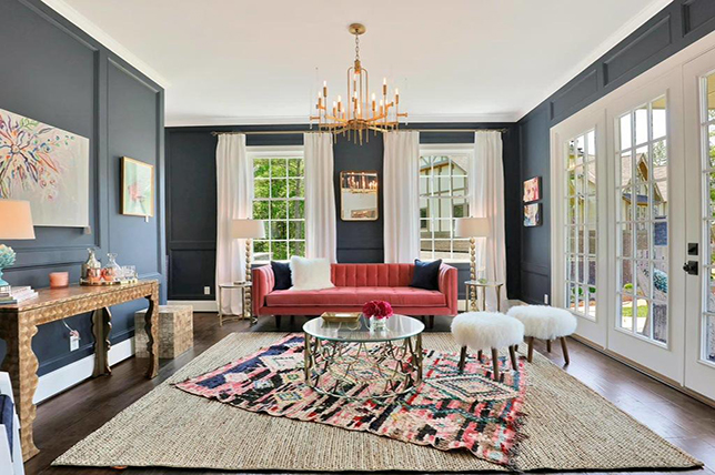 Layered carpets