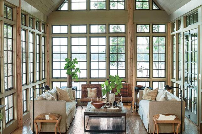 modern rural interior design