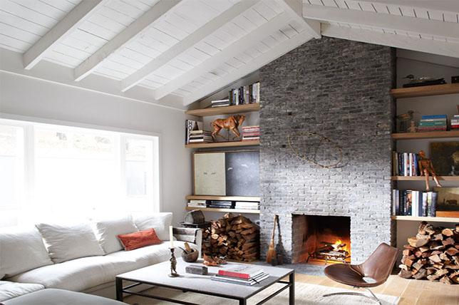 modern rural living room decoration