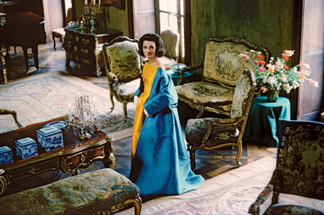 Interior style photography by Cecil Beaton