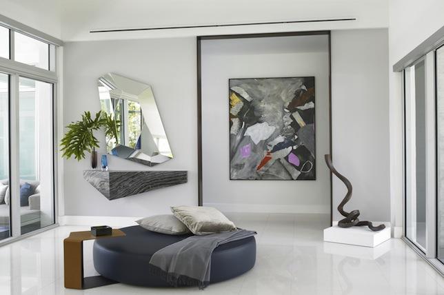 Mirror entrance area decor ideas modern foyer