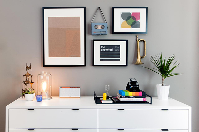 What to do when you hang art