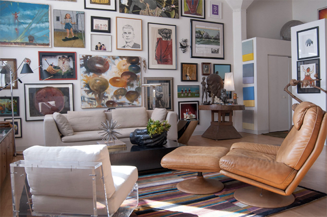 Tips for creating a gallery art wall