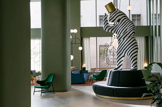 Jaime Hayon surreal interior decoration objects
