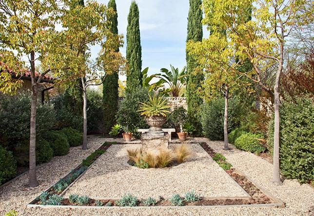 Garden gravel landscaping ideas