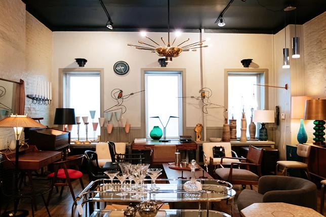 New York City's best antique shops city foundry