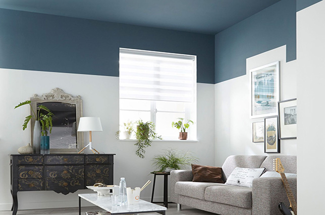 Color block living room interior design guide