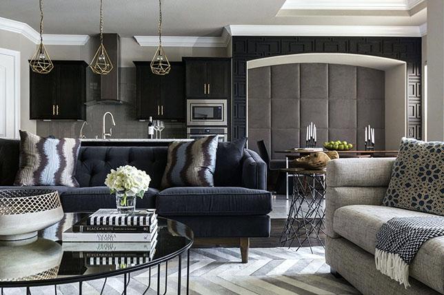 dark living room paint ideas