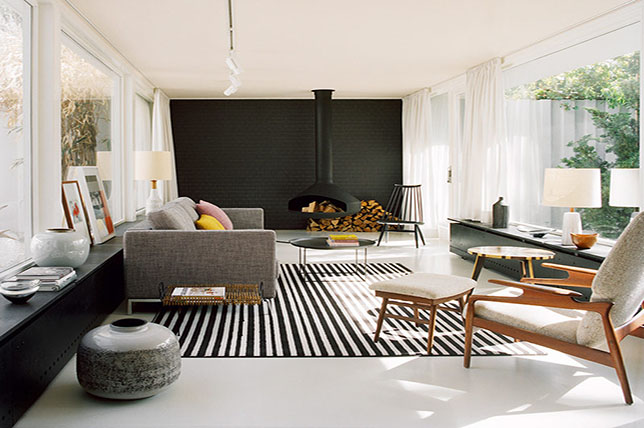 Accent wall living room color ideas