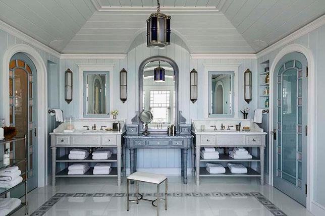 Coastal decor bathroom ideas