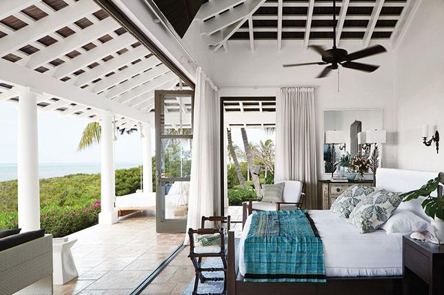Coastal decor bedroom style