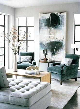 small living room furniture ideas oversized art