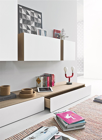 small living room furniture ideas floating storage