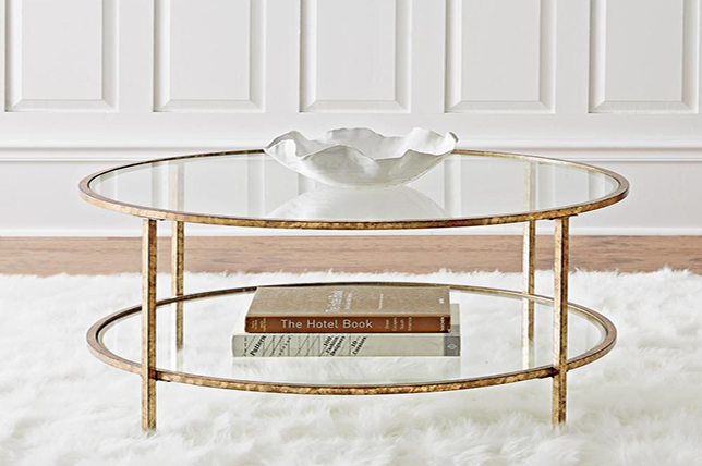 small living room furniture ideas glass tables