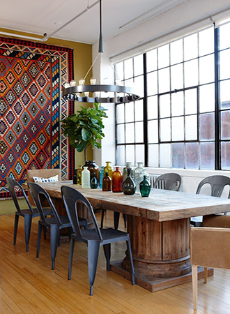 rustic dining room lighting trends 2019