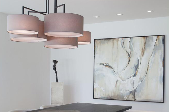 Recessed dining room lighting