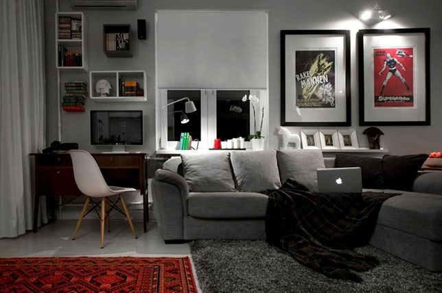 Bachelor pad ideas apartment