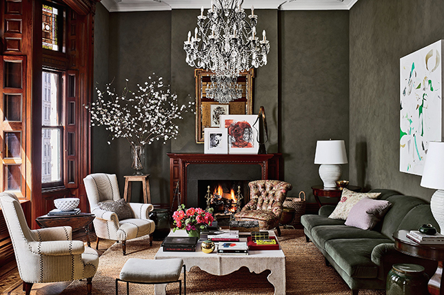 Furnishing ideas in traditional style